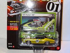 JL STREET FREAKS THE SPOILERS GREEN 1971 PONTIAC GTO 2017 RELEASE 2 VERSION A