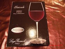 Luigi Bormioli Crescendo Bordeaux 20 ounce Wine Glasses Set of 3