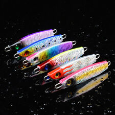 6pcs Lot Iron Bait Seawater Fishing Lures Metal Baits Lead Fish Tackle 8cm 40g