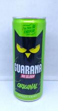 Empty Guarana Original Energy Drink can; 250 ml/8.45 fl oz; TOP (Serbia)