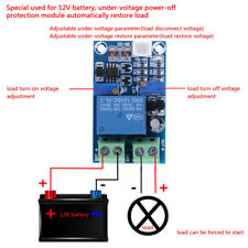 12V Battery Low Voltage Cut off On Switch Automatic Recovery Protection Module z
