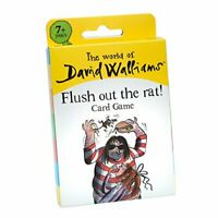 The World of David Walliams 6855 Flush Out The Rat Card Game