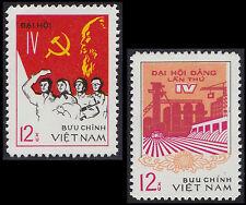Rep Socialiste VIETNAM N°30/31**  Parti ouvrier 1976, Vietnam Sc#845 (a-b) MNH