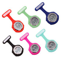 MULTI-FUNCTION DIGITAL SILICONE RUBBER NURSE WATCH FOB POCKET WATCH GIFT STRICT