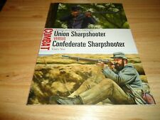 @@@ UNION SHARPSHOOTER VS CONFEDERATE SHARPSHOOTER OSPREY COMBAT BRAND NEW @@@