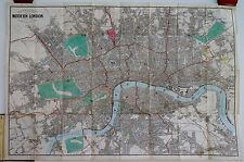 Antique maps, Reynolds's Map of modern London , 1859