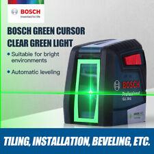 Bosch High Precision Laser Level Green Light Horizontal Vertical Range Finder