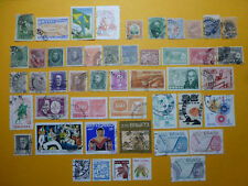 LOT 6181 TIMBRES STAMP POSTE AERIENNE SERVICE DIVERS BRESIL ANNEE 1866-1976