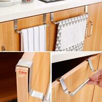 Kitchen Cupboard Hanger Stainless Steel Bathroom Towel Stand Rack Cabinet L6V0