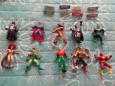 Gran lote 10 figuras superhéroes DC (Superman, Batman, etc)