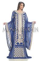BRIDAL WEDDING GOWN MOROCCAN ISLAMIC KAFTAN ARABIAN THOBE DESIGN DRESS 1743