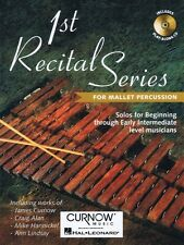 First Recital Series Mallet Percussion Curnow Play-Along Book New 044001616