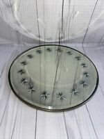 Vintage Round Mirror With Cut Star Design And Edge