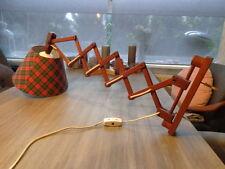 Danish 70's Teak Lamp Scissors Lamp Scherenlampe Danish Modern