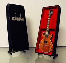 Mick Ronson: Gibson Les Paul - Guitar Miniature Replica (UK Seller)