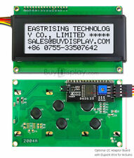 White IIC/I2C/TWI 20x4 Character LCD Display Module for Arduino w/Wire,Library