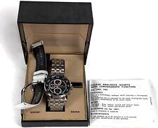 RARE NOS VTG Pulsar Day Chronograph Quartz V657-7070 Mens Watch PJN063