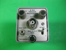 Tektronix Trigger Recognizer #2 -- S-53 -- Used