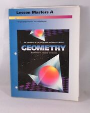 GEOMETRY LESSON MASTERS A. 2ND EDITION University Of Chicago