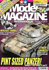 Tamiya Model Magazine International #192 Panzer II Mercedes GP Petronas W01