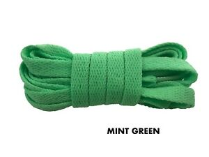 FLAT REPLACEMENT SHOELACES COLORFUL LACES NIKE ADIDAS CONVERSE BUY 2 GET 1 FREE
