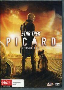 Star Trek Picard Season One DVD NEW Region 4 Patrick Stewart