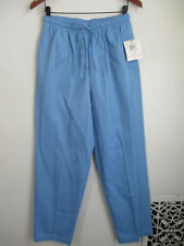 BRECKENRIDGE Womens Blue Casual Pants Size 10 M Blueicicle All Aboard Elastic