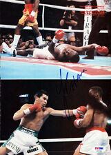 Julio Cesar Chavez Autographed Signed Magazine Page Photo PSA/DNA COA S47390