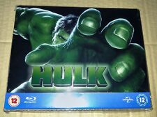 New Marvel Hulk Blu-ray Steelbook™ Play.com UK OOP