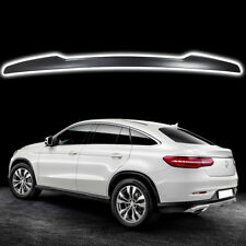 Matte Black Fit For Mercedes Benz GLE C292 Coupe Rear V Style Trunk Spoiler Wing