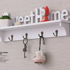 Key Rack Holder Wall Organizer Mount Hanger Home Letter Hooks Storage HookYYY