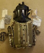 british military GSR scott respirator gas mask mtp field pack cannister new 2/3