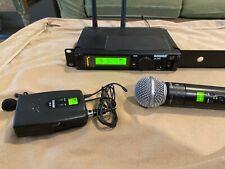 Shure ULXP4 Wireless Receiver w/Stick Mic and Lapel