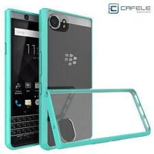 Anti-Shock Hybrid TPU+Acrylic Bumper Hard Back Case Cover For Blackberry KEYone