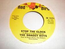 The Shaggy Boys 45 Stop The Clock RED BIRD