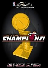 NBA - Miami Heat 2013 Champions (DVD, 2014, 7-Disc Set)