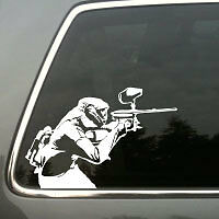 Paintball gun Tippmann Spyder Piranha GTI vinyl decal