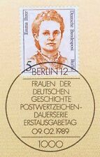 Berlin 1989: Emma Ihrer Nr. 833 mit sauberem Ersttags-Sonderstempel! 1A! 1801
