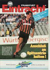 BL 92/93 Eintracht Frankfurt - FC Schalke 04