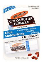PALMER'S COCOA BUTTER MOISTURISING   LIP BALM 4g GREAT VALUE!!!!