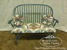 Quality Painted Windsor Settee