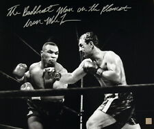 Iron Mike Tyson Autographed Signed 16x20 Photo vs Rocky Marciano ASI Proof