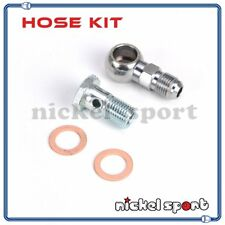 M14 x 1.5mm 6AN Water Banjo Bolt Kit TD05H TD06H Turbo for Subaru Genesis Patrol