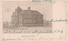 Garfield School Yankton Sd Postcard 1912