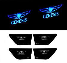 Inside LED Door Catch Blue DIY Kit 4p 1Set For 2015 Hyundai Genesis Sedan