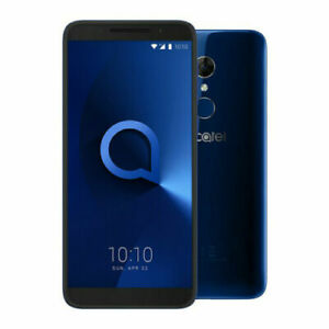 Alcatel 3 5052D 16GB 5.5 Inch Screen Sim Free Unlock Spectrum Blue Mobile Phone