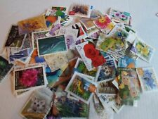Collection lot 100 different beautiful flora and fauna stamps of Australia