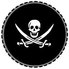 PIRATE - FUN CAR TAX DISC HOLDER - BRAND NEW REUSABLE