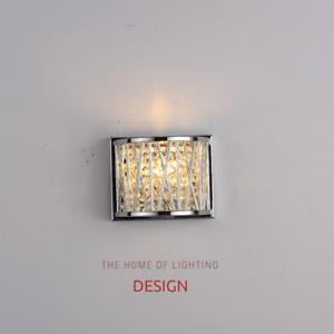 Emilia Jazzy Wall Light, Chrome  RRP £75.00