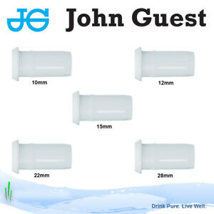 John Guest Tube Inserts / Pipe Support - 10mm, 12mm, 15mm, 22mm, 28mm
